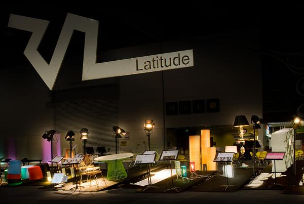 Latitude exhibition design