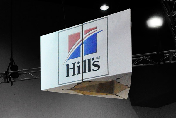 Hill's trade show stand