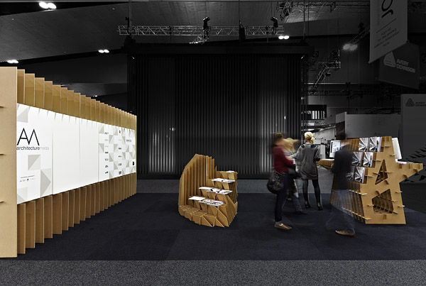 Architecture Media trade show stand